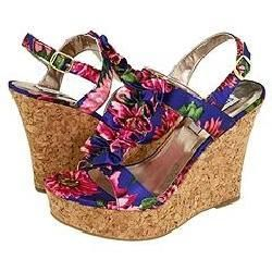 Steve Madden Quantumm Floral Multi Sandals