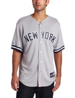 MLB New York Yankees Mariano Rivera Road Gray Short Sleeve