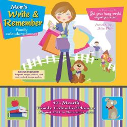Mom`s Write & Remember by Julie Bluet 2012 (Calendar)