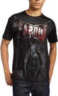 Tapout Mens Pitbull T Shirt,Black,XX Large Clothing