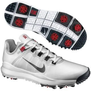 Nike Mens Limited Edition White TW 2013 Golf Shoes