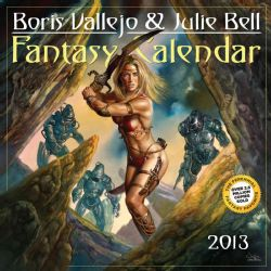 Boris Vallejo & Julie Bell Fantasy 2013 Calendar (Calendar