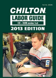 Labor Guide for Domestic and Imported Vehicles, 2013