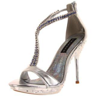 Celeste Womens May 21 Silver Crystal Heel
