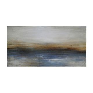 Charlene Lynch Calm Seas Hand painted Canvas Art