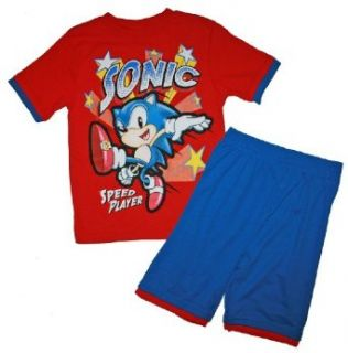 Sonic the Hedgehog Short & Shirt Clothing Set (8