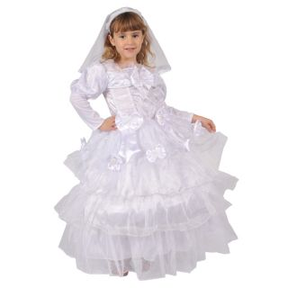 Dress Up America Girls Exquisite Bride Costume Today $39.99 4.5 (2