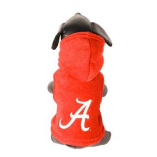NCAA Alabama Crimson Tide Polar Fleece Hooded Dog Jacket