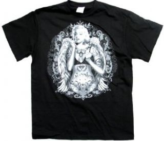 Marilyn Monroe T shirt Angelic Tattoo Design Clothing