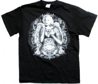 Marilyn Monroe T shirt Angelic Tattoo Design Clothing