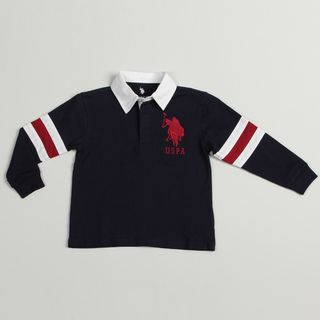 US Polo boys Navy Polo Shirt