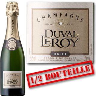 Duval Leroy   Champagne Brut   Vendu à lunité   37,5cl
