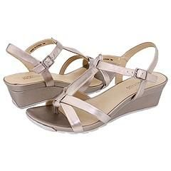 Kenneth Cole Reaction Sunny Dew Pewter Metallic Sandals