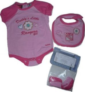 New York Rangers Pink Girls 24 Month Baby Infant 3 Pc