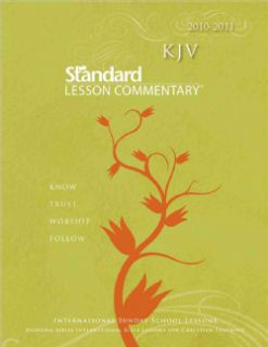 James Version Standard Lesson Commentary 2010 2011