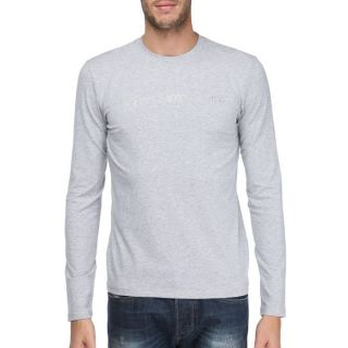 CALVIN KLEIN JEANS T Shirt Homme gris   Achat / Vente T SHIRT CALVIN