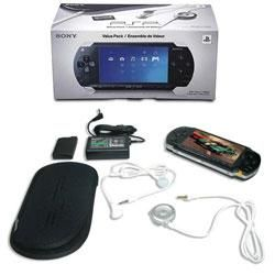 Sony PlayStation Portable (PSP)   Value Pack (Refurbished)