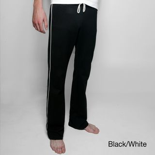 American Apparel Unisex Striped California Fleece Track Pants