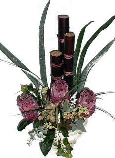Silk Protea Flower Arrangement (23 in.)