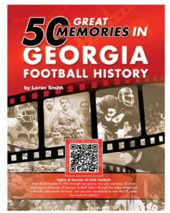 50 Great Memories in Georgia Football History (Hardcover) Today $15