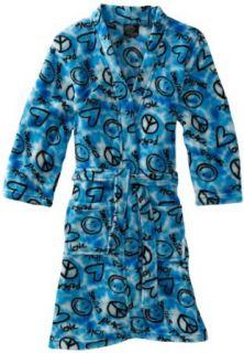 Fancy Girlz 7 16 Peace Love Smiles Robe Clothing