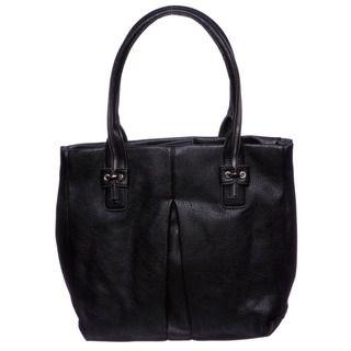 Jessica Simpson Zip Me Up Black Tote Bag