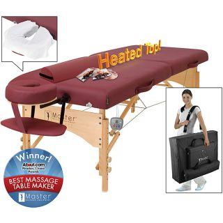 Master Massage Geneva LX 28 inch Heated Portable Massage Table