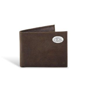 Mississippi Leather Crazy Horse Brown Passcase Wallet