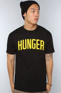DGK The Hunger Tee in Black,Extra Large,Black: Clothing