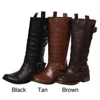 MIA Womens Roadster Motorcycle inspired Mid calf Boots FINAL SALE