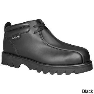 Lugz Mens Pathway Leather Lace Up Ankle Boots