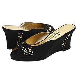 Dezario Carol Black Sandals