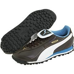 Puma King XL Trainer Chocolate Brown/White/Cendre Blue Athletic