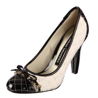 Chinese Laundry Womens Toby Black/White Pumps