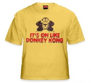 Its On Like Donkey Kong T Shirt  Vintage Gamer Tee