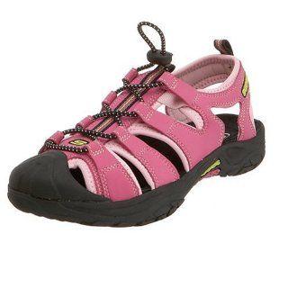 /Big Kid Journey Girl Sandal,Hot Pink/Lime,11 M US Little Kid Shoes