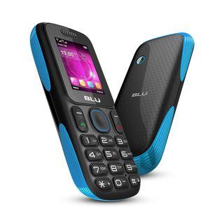BLU Tank T190 GSM Unlocked Dual SIM Cell Phone   Blue/Black