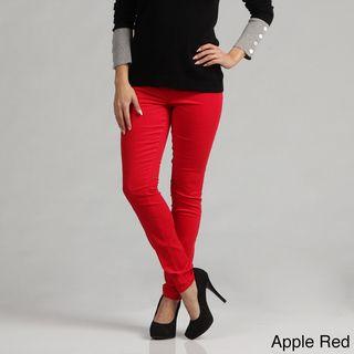 Kensie Womens Slim Fit Stretch Corduroy Pants FINAL SALE