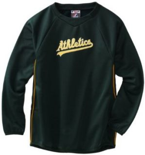 MLB Oakland Athletics Long Sleeve Crew Neck Thermabase