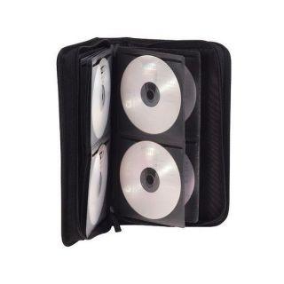 CD/DVD/BLU RAY Portefeuille 48 CD ou DVD à fermeture glissière