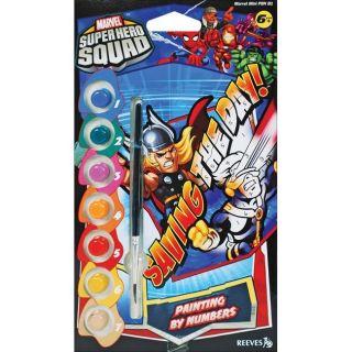 Marvel Mini Paint By Number Super Hero Squad 1 Kit