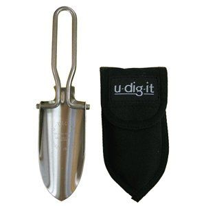 Ultimate Survival U DIG IT Stainless Steel Folding Shovel