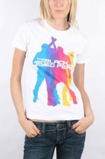 Black Eyed Peas   Action Womens T Shirt In White, Size