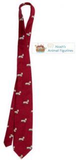 Skye Terrier Tie (Mens Dog Breed Neck Tie) Clothing
