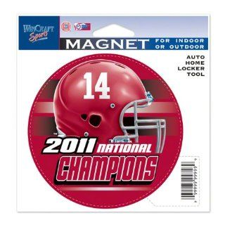 Alabama Crimson Tide 2011 BCS National Champions Die Cut