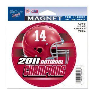 Alabama Crimson Tide 2011 BCS National Champions Die Cut