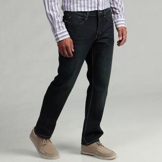 Kenneth Cole New York Mens Dark Indigo Denim Jeans