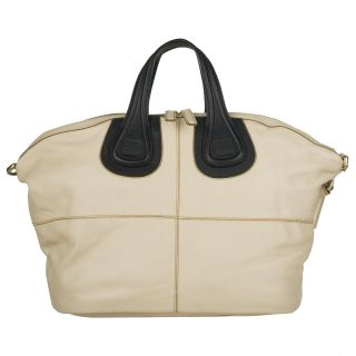 Givenchy Nightingale Medium Colorblock Leather Shopper Bag