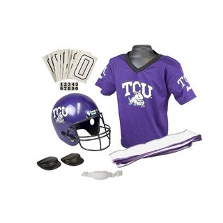 Franklin NCAA Small TCU Deluxe Uniform Set