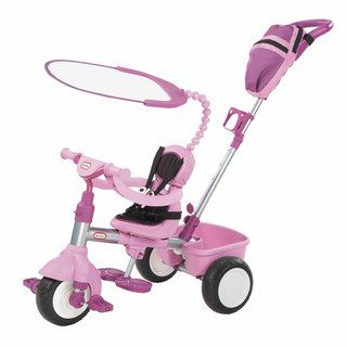 Little Tikes 3 in 1 Purple Deluxe Trike